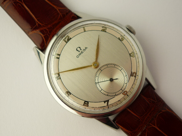 Omega Stainless steel Watch ref 2272-7 (1954)