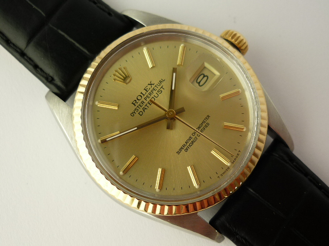 Rolex Oyster Perpetual DateJust watch ref 16013 (1986)