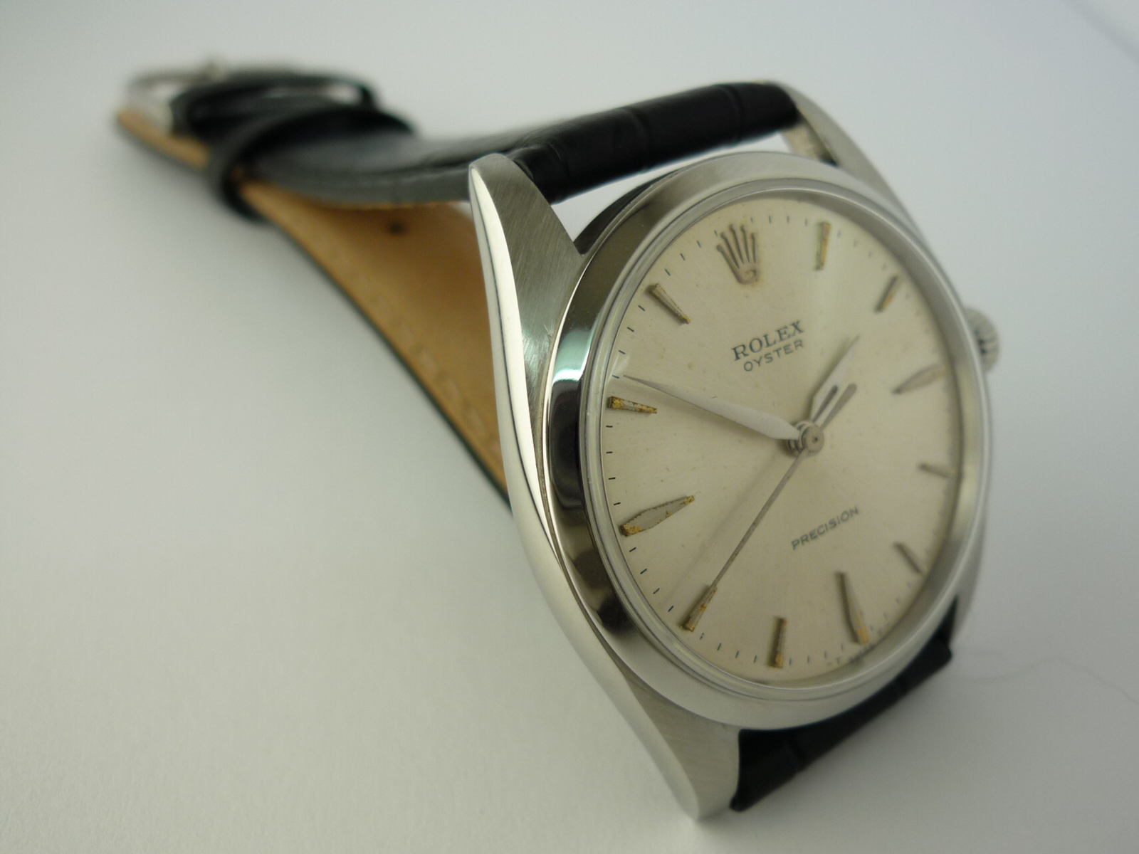 Rolex Oyster precision watch ref 6424 (1964)