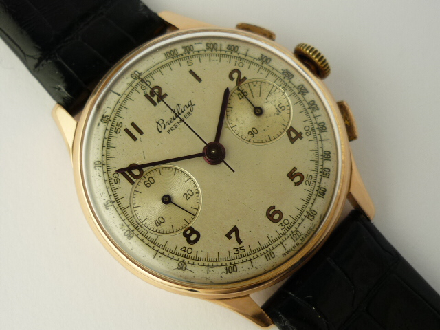 Breitling Premier 18ct rose gold ref 760 (1945)