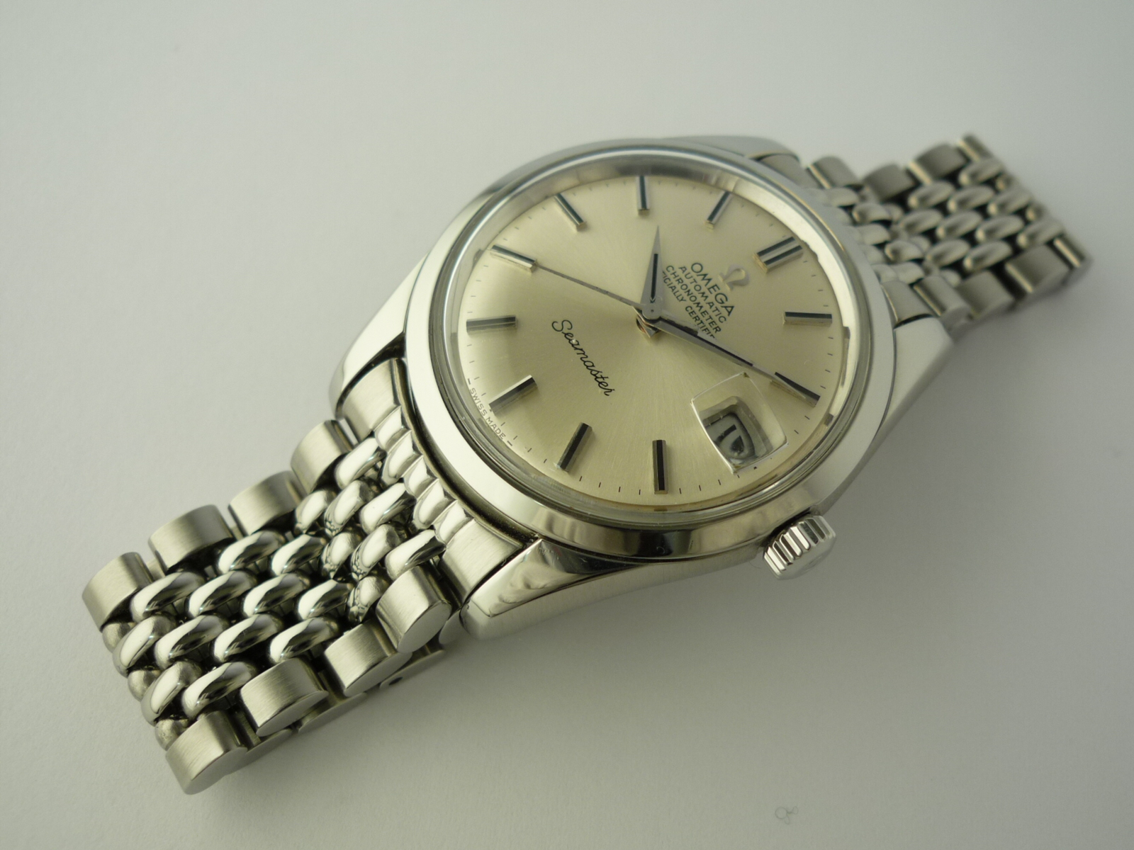 Omega Seamaster Chronometer watch ref 166010 (1970)