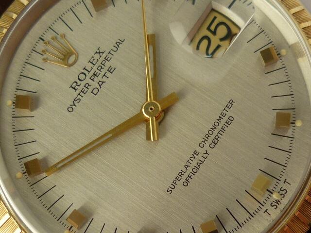 Rolex Oyster Perpetual Date ref 15053 (1967).