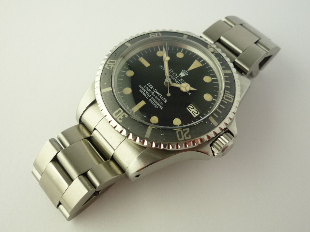 Rolex Rail Dial Sea-Dweller ref 1665 Box and Papers (1979)