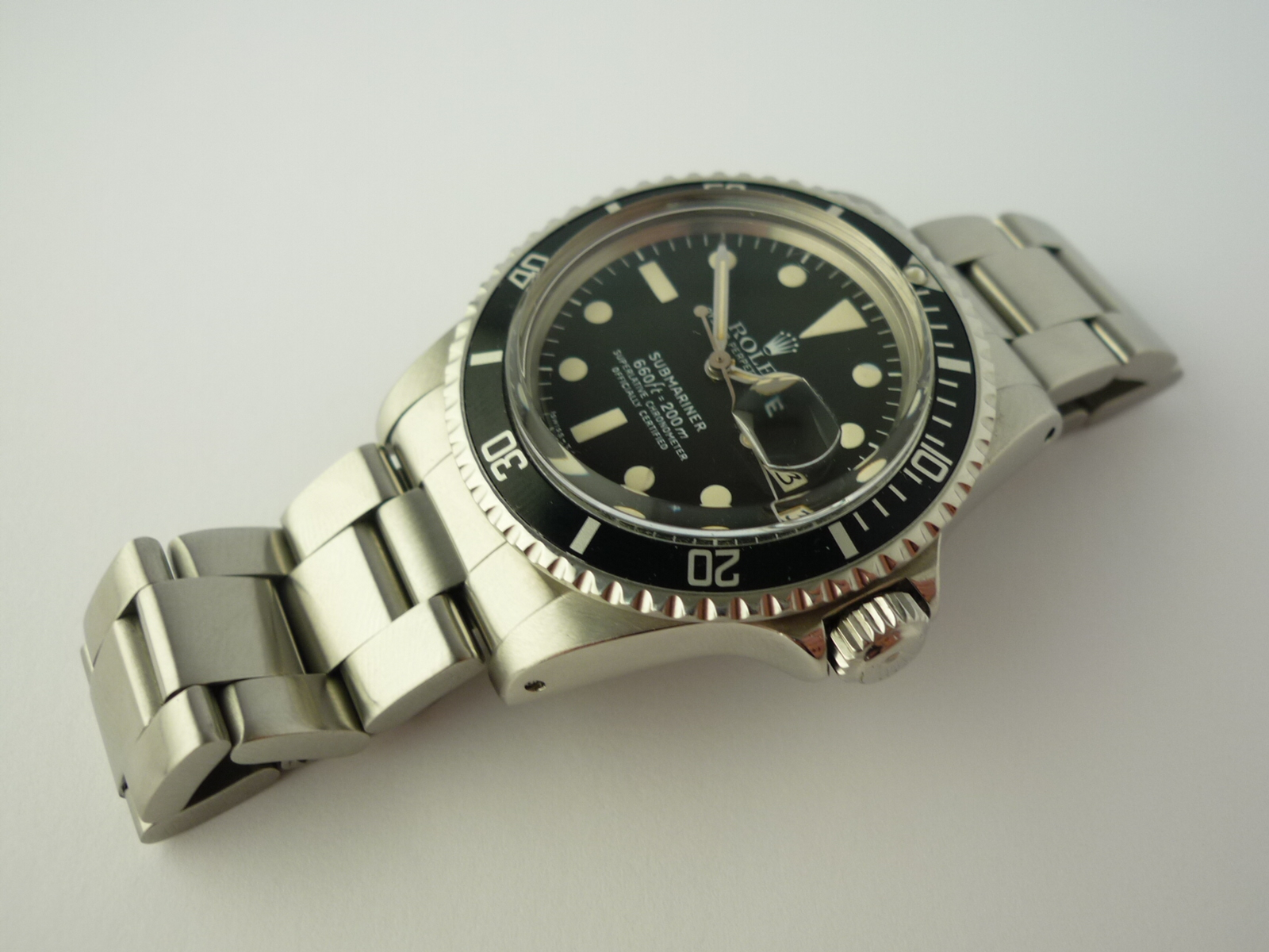 Rolex Submariner watch ref 1680 Box and Papers (1979)