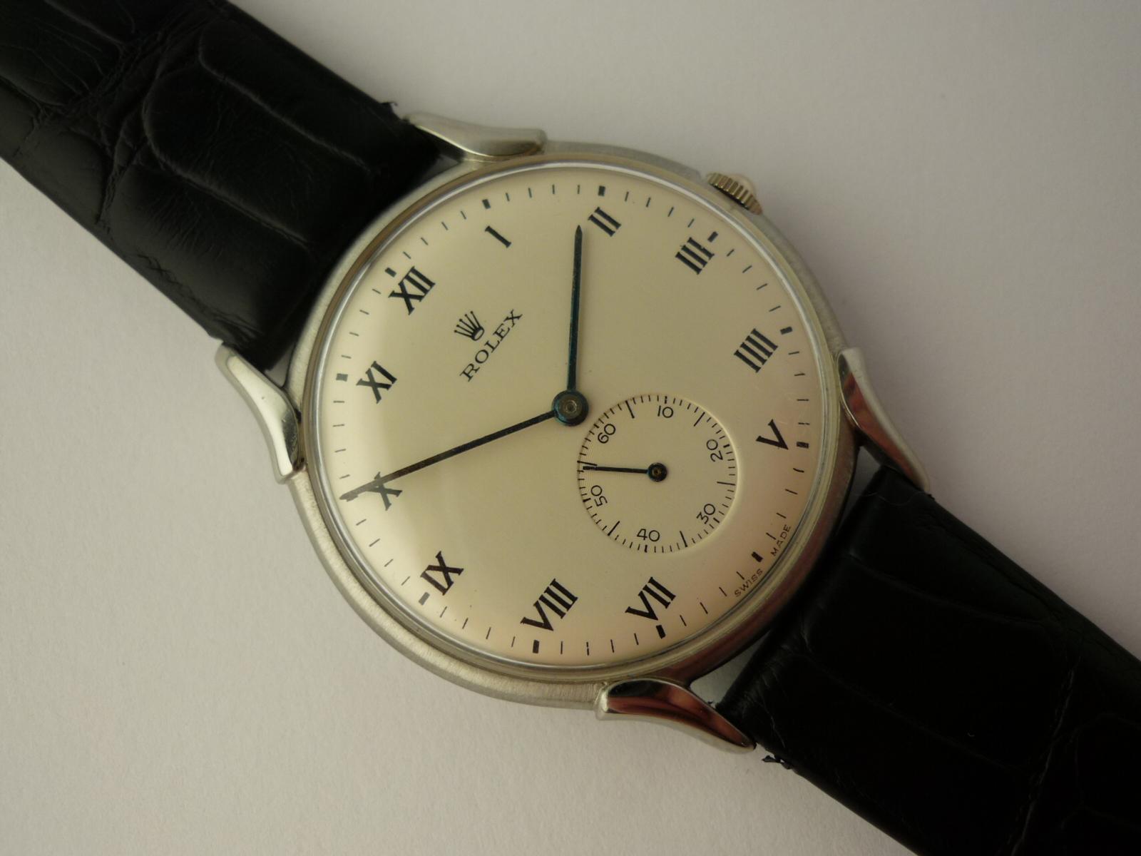Vintage Rolex Precision watch ref 4498 (1948)