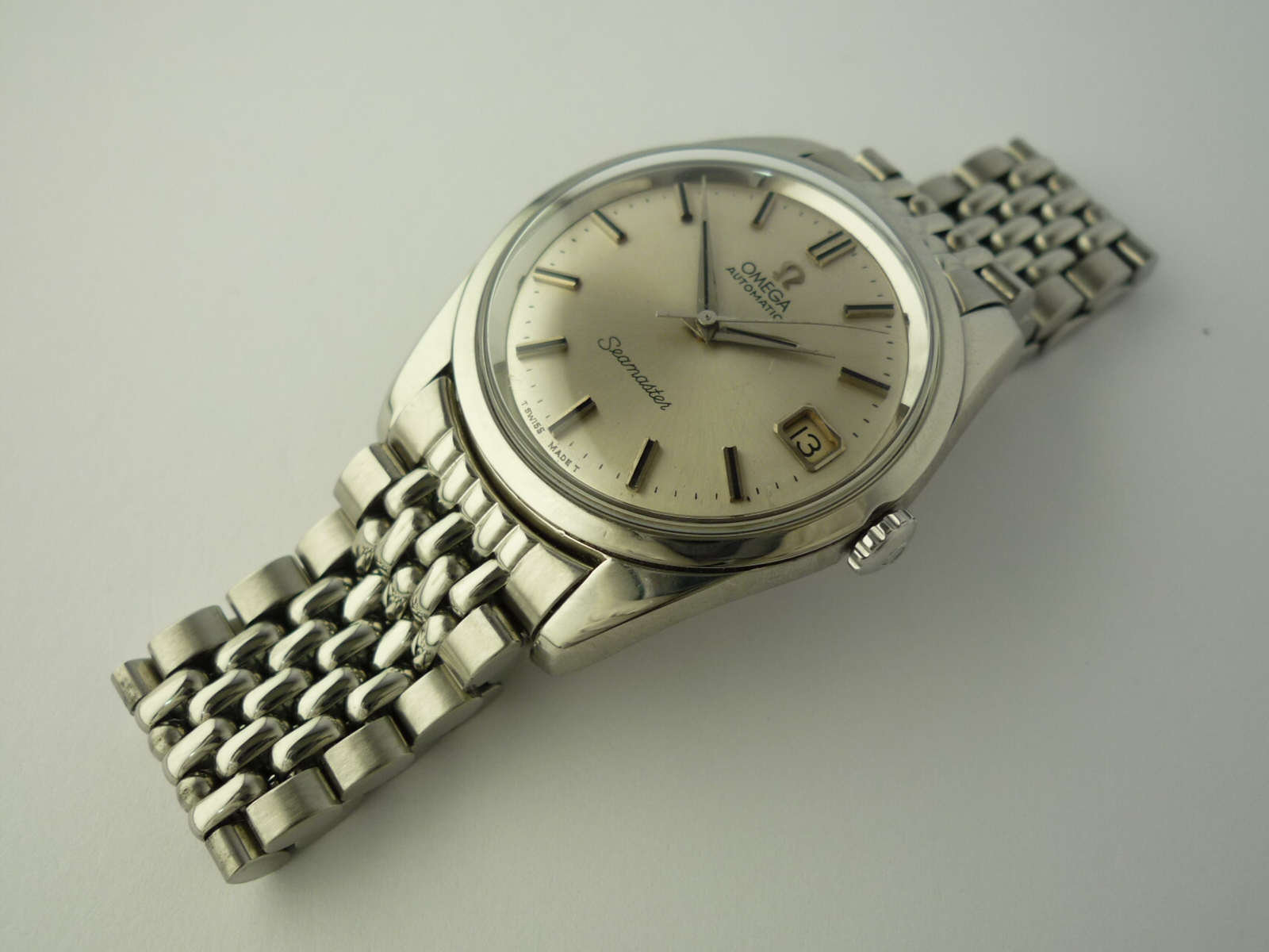 Omega Seamaster watch ref 166010 (1966)
