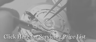 <p>Click here for a Servicing Price List</p>