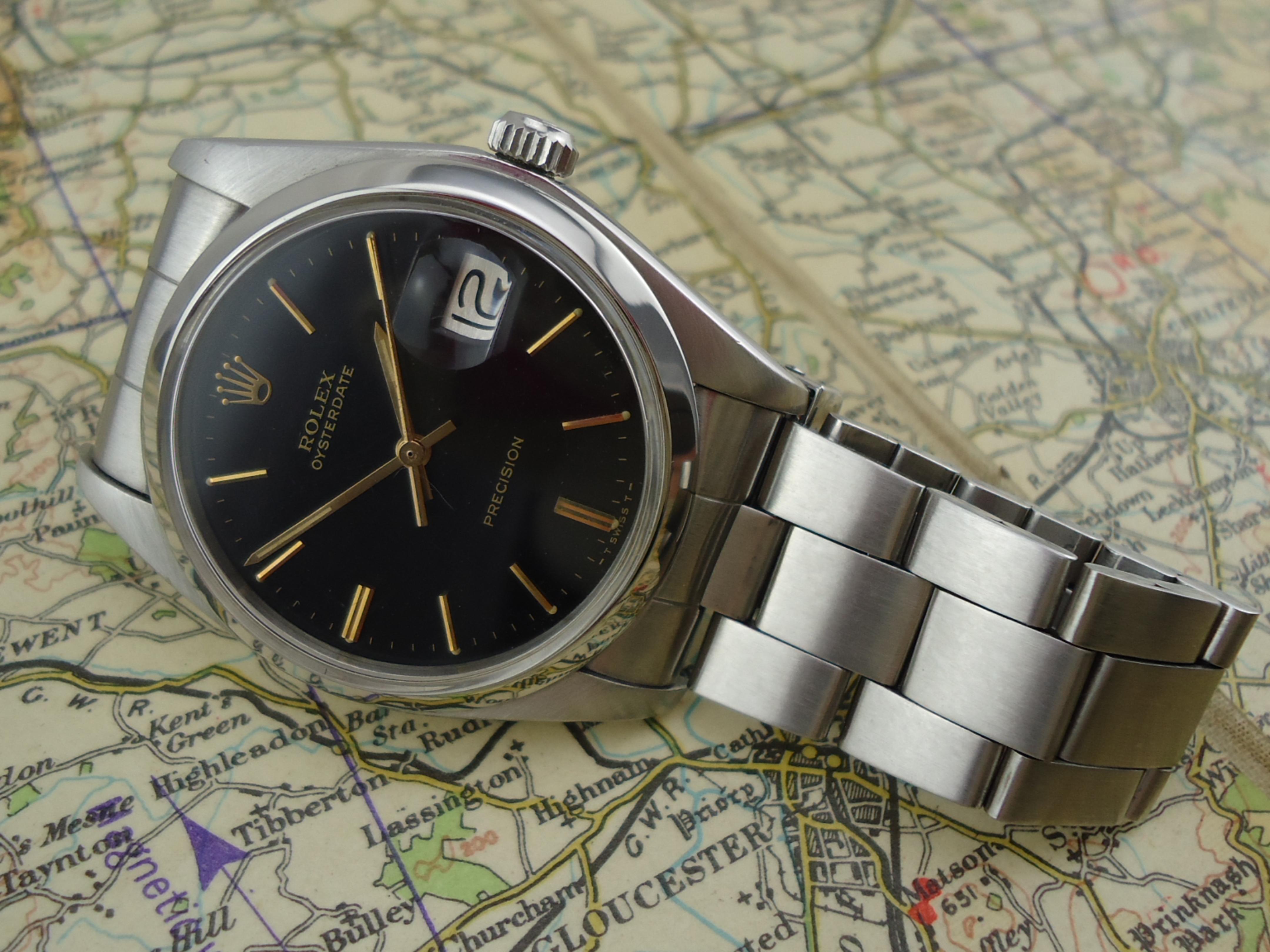 Rolex OysterDate Precision Watch ref 6694 (1977).