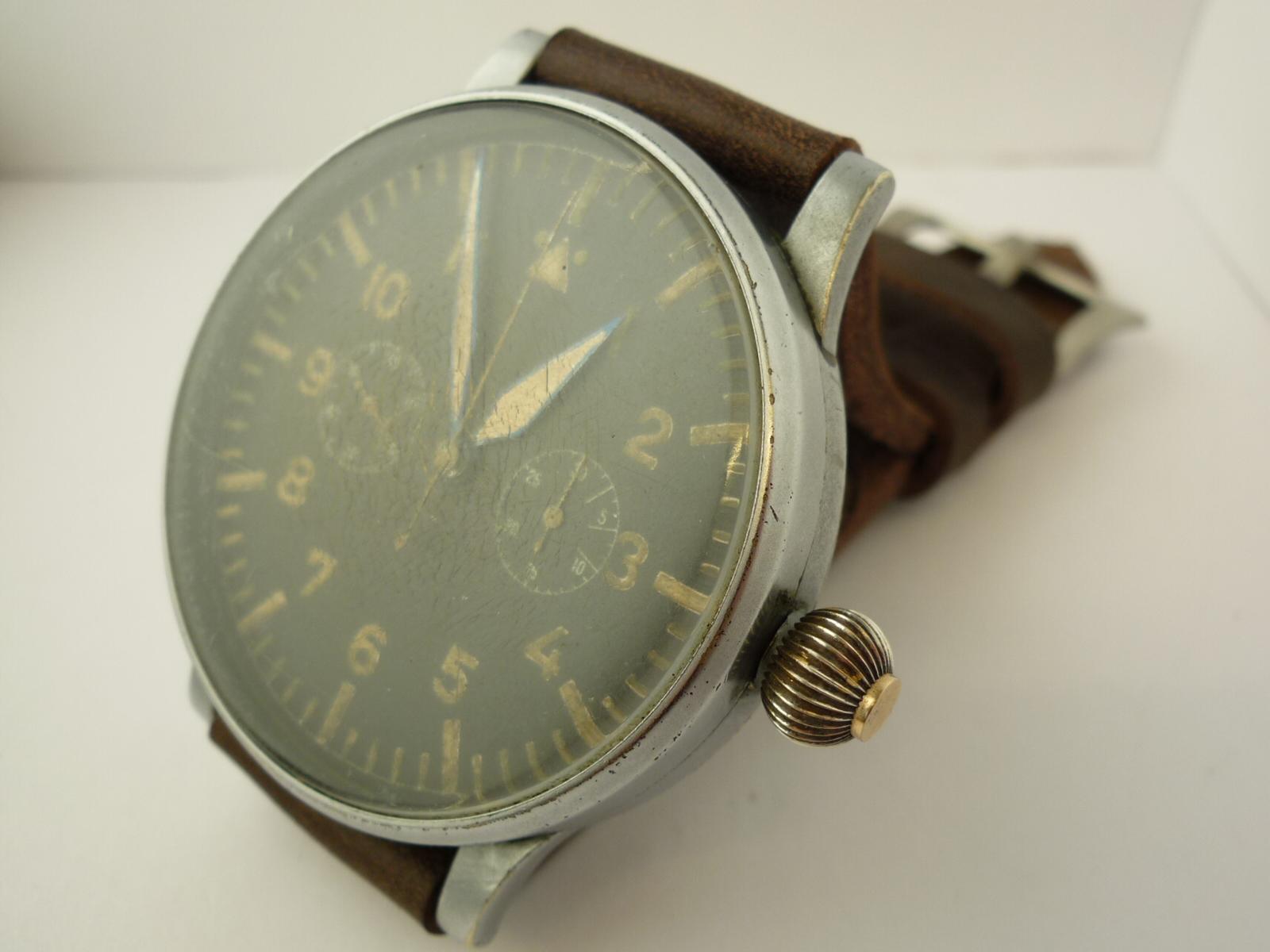 World War II German Navigators Watch-Wempe Valjoux 61