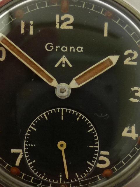 WWW Vintage British Military Grana Wrist Watch (1945)