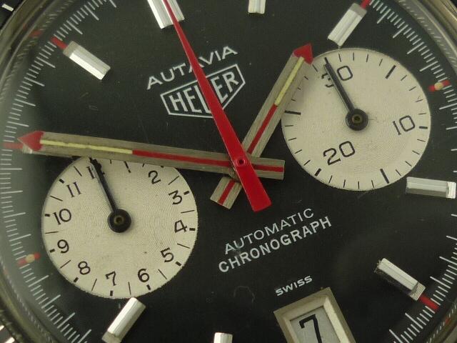 Heuer Autavia Automatic Chronograph watch ref 1133 (1976)