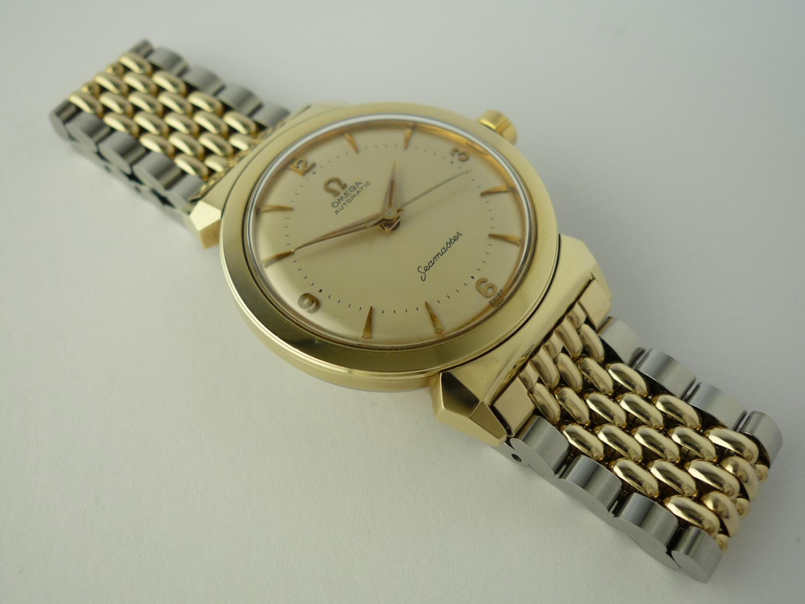 Omega Automatic Seamaster wristwatch ref 143-63-3 (1956)