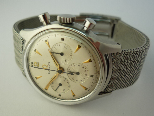 Omega Stainless steel Watch ref 2451 (1952) Cal 321