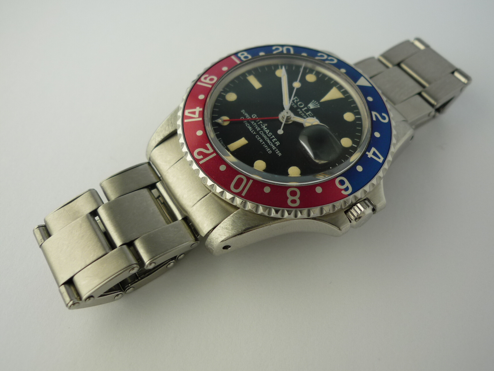 Rolex Oyster Perpetual GMT Master ref 1675 (1967) B & P