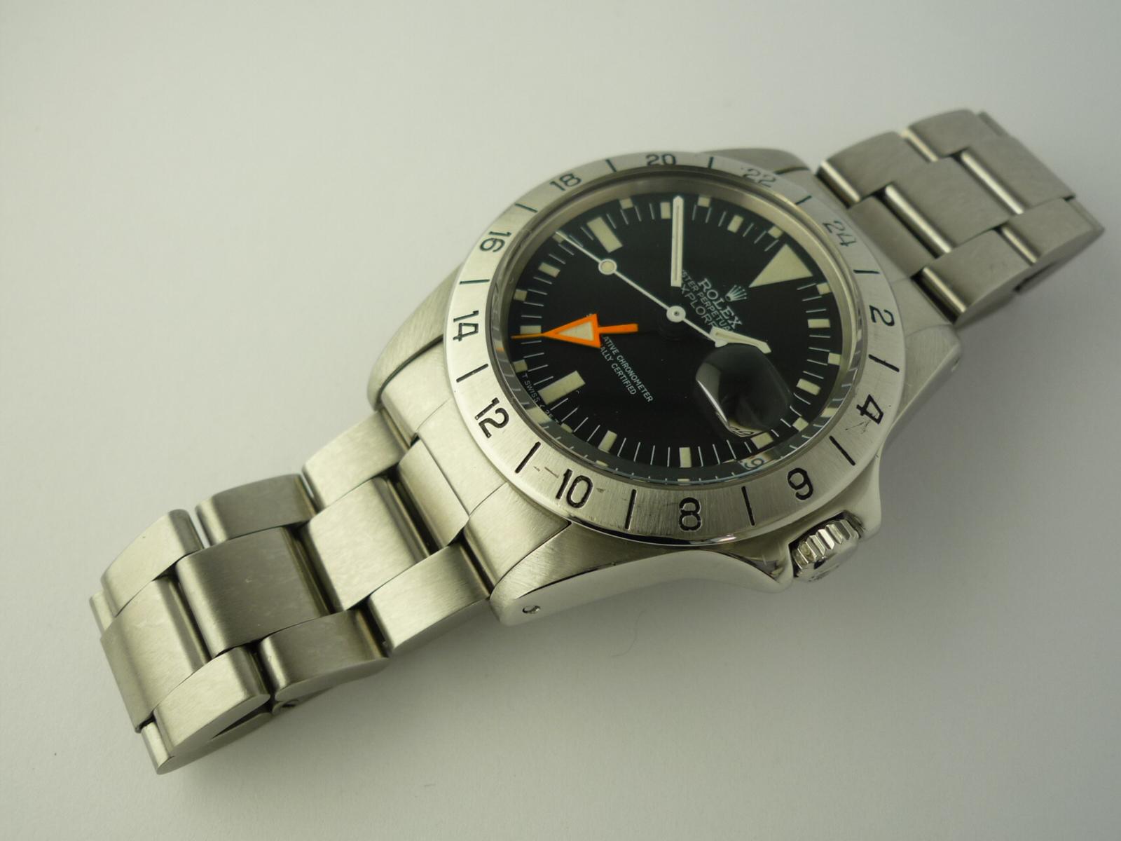 Rolex Oyster Perpetual Explorer II ref 1655 B & P (1972)