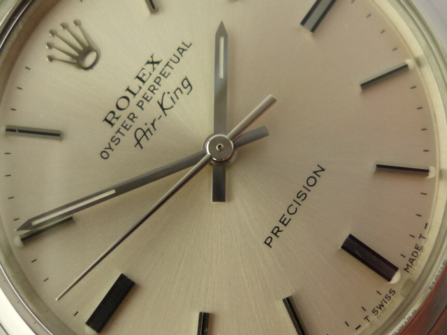 Rolex Oyster Perpetual Air King ref 5500 (1968)