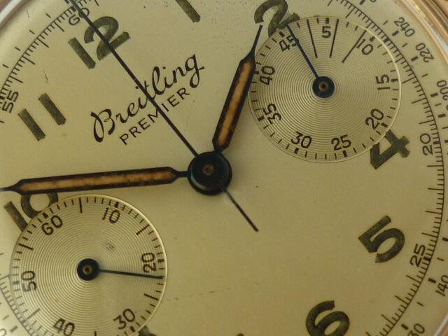 Breitling Premier Watch 18ct rose gold ref 790 (1946)